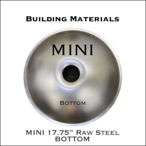 "17.75"" Raw Steel Bottom"