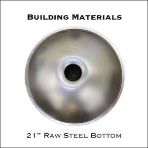 "21"" Raw Steel Bottom"